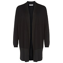Buy Windsmoor Matte Cardigan, Black Online at johnlewis.com