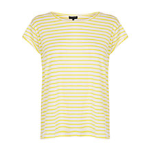 Buy Warehouse Stripe Boyfriend Tee Online at johnlewis.com