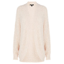 Buy Warehouse Boucle Shawl Cardigan, Light Pink Online at johnlewis.com