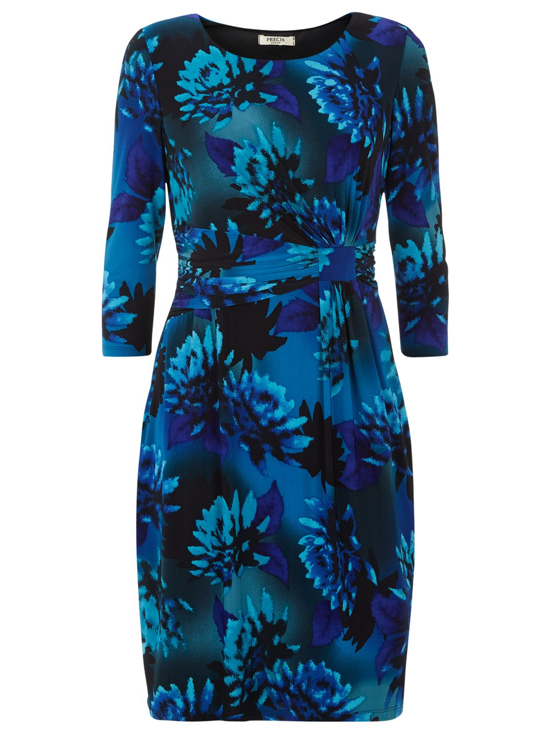 precis petite floral print dress blue, precis, petite, floral, print, dress, blue, precis petite, 14|18, clearance, womenswear offers, womens dresses offers, women, womens dresses, special offers, 1609715