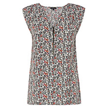 Buy Warehouse Swirl Print Blouse, Multi Online at johnlewis.com