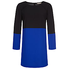 Buy Planet Colour Block Tunic Dress, Black/Blue Online at johnlewis.com