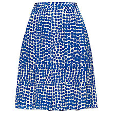 Buy Jaeger Spot Pleat Skirt Online at johnlewis.com