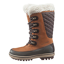 Buy Helly Hansen Garibaldi Winter Boots, Brown Online at johnlewis.com