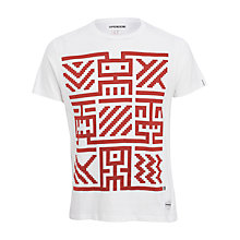 Buy Supremebeing Idol T-Shirt, White Online at johnlewis.com