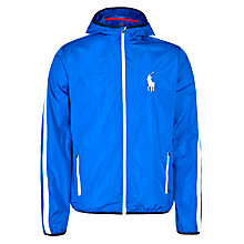 Buy Polo Ralph Lauren Hooded Tournament Jacket, Pacific Royal Online at johnlewis.com
