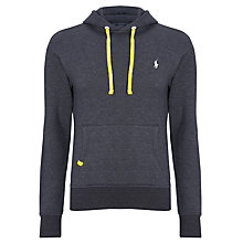 Buy Polo Ralph Lauren Jersey Hoodie, Pure White Online at johnlewis.com