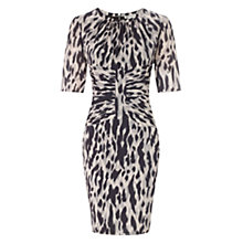 Buy Whistles Bella Tyler Animal Dress, Pink/Multi Online at johnlewis.com