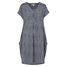 Buy Whistles Vito Stripe Adrianne Dress, Blue/Multi Online at johnlewis.com