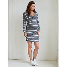 Buy Mamalicious Darla Jersey Maternity Dress, Grey Online at johnlewis.com