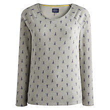 Buy Joules Larielle Top, Grey Marl Online at johnlewis.com