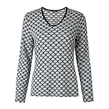 Buy Gerry Weber Waffle Top, Grey Online at johnlewis.com