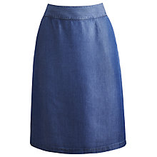 Buy Joules Mirella Skirt, Chambray Online at johnlewis.com