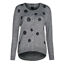 Buy Gerry Weber Spotty Cardigan, Grey Online at johnlewis.com