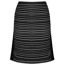 Buy Gerry Weber Jersey Skirt, Black Online at johnlewis.com