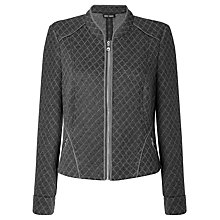 Buy Gerry Weber Jersey Jacket, Grey Online at johnlewis.com