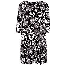 Buy Marimekko Circle Dress, Black/White Online at johnlewis.com
