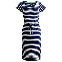 Buy Joules Nettie Dress, Blue Stripe Online at johnlewis.com