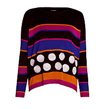 Buy Marimekko Dot Stripe Jumper, Multi Online at johnlewis.com