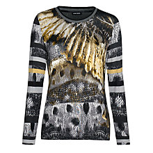 Buy Gerry Weber Print T-shirt, Multi Online at johnlewis.com