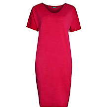 Buy Marimekko Pirskeri Dress, Raspberry Red Online at johnlewis.com