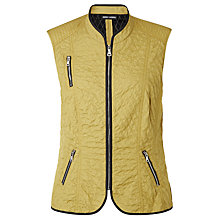 Buy Gerry Weber Gilet, Green Online at johnlewis.com