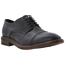 Buy Bertie Benson Toecap Oxford Shoes, Black Online at johnlewis.com