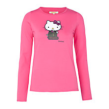 Buy Barbour Girls' Hello Kitty T-Shirt, Light Pink Online at johnlewis.com