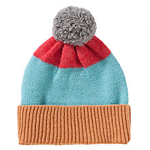 Buy Donna Wilson for John Lewis Stripe Bobble Hat, Multi Online at johnlewis.com
