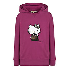 Buy Barbour Girls' Hello Kitty Hoodie, Purple Online at johnlewis.com
