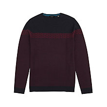 Buy Ted Baker Cowden Jacquard Jumper Online at johnlewis.com