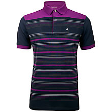 Buy Calvin Klein Golf Tech Stripe Polo Shirt Online at johnlewis.com