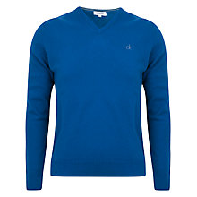 Buy Calvin Klein Golf Lambswool V-Neck Top Online at johnlewis.com