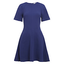 Buy Whistles Jude Raglan Sleeve Skater Dress, Blue Online at johnlewis.com