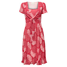 Buy East Clarissa Bubble Dress, Coral Online at johnlewis.com