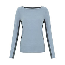 Buy Jigsaw Colour Block Boat Neck Jumper Online at johnlewis.com