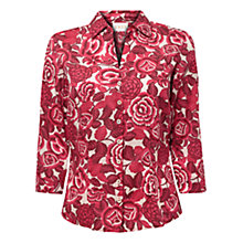 Buy East Marlene Print Shirt, Pink Online at johnlewis.com