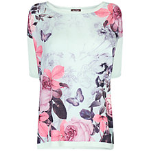 Buy Phase Eight Botanical Rose Jumper, Menthe Online at johnlewis.com