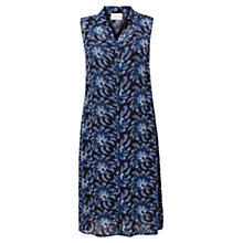Buy East Julia Floral Printed Shirt Dress, Ink Online at johnlewis.com