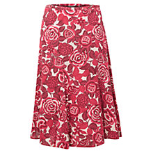 Buy East Marlene Print Skirt, Coral Online at johnlewis.com