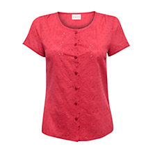 Buy East Cotton Dobby Blouse Online at johnlewis.com