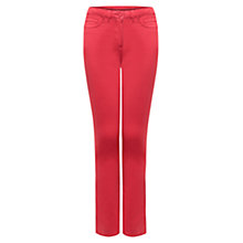 Buy East Stretch Jeans, Coral Online at johnlewis.com