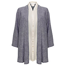 Buy East Cross Dye Linen 2-in-1 Shirt Online at johnlewis.com