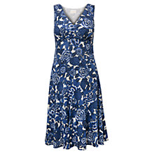 Buy East Marlene Print Cotton Dress, Ink Online at johnlewis.com