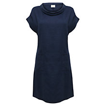Buy East Bardot Neck Linen Dress, Ink Online at johnlewis.com