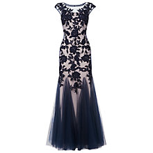 Buy Phase Eight Collection 8 Rita Tulle Floral Dress, Nude/Midnight Online at johnlewis.com
