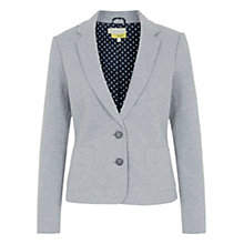 Buy Hobbs Betty Blazer, Grey Melange Online at johnlewis.com