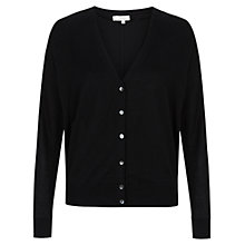 Buy Hobbs Betty Cardigan, Black Online at johnlewis.com