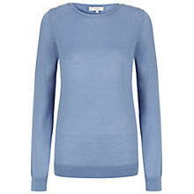 Buy Hobbs Calla Jumper, Light Delphinium Online at johnlewis.com