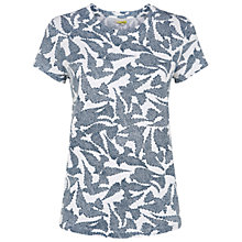 Buy Hobbs Bella T-Shirt, White Online at johnlewis.com